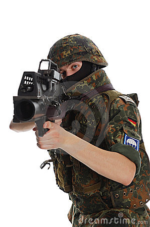 Soldier of the Bundeswehr.
