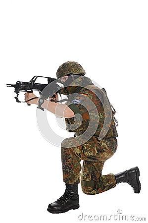 Soldier of the Bundeswehr.