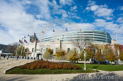 Soldier Field Editorial Stock Image