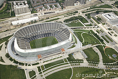 Soldier Field Editorial Stock Photo