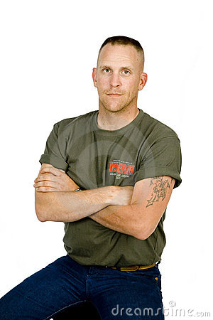 Soldier home from Iraq