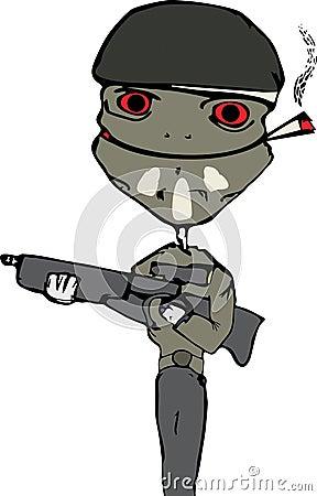 Soldier lizard