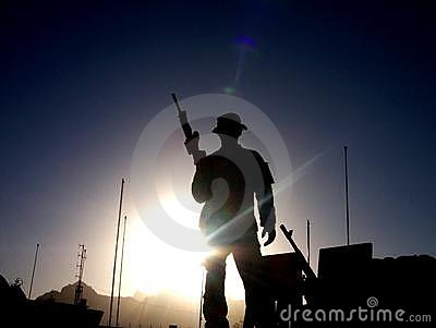 Soldier Sunrise