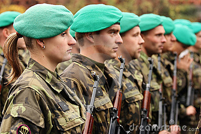 Soldiers Editorial Stock Photo