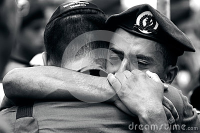 Soldiers grief Editorial Image