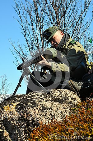 Soldiers of hitler s army reconstruction of hostilities in the valley