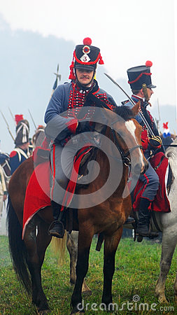 Free Soldiers Ride Horses Royalty Free Stock Image - 30833746
