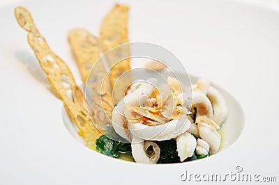 Sole fish soup