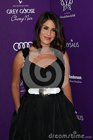 Soleil Moon Frye arriving at 11th Annual Chrysalis Butterfly Ball Editorial Stock Photo