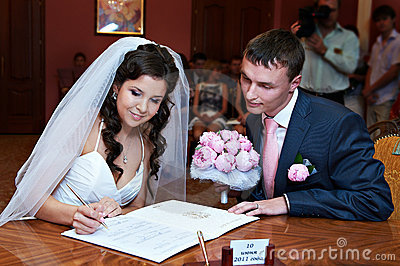 Solemn registration of marriage