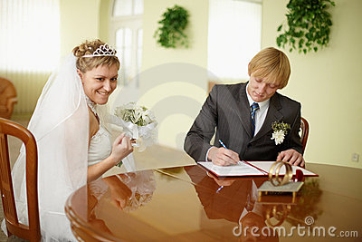 Solemn registration - wedding ceremony