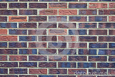 A Solid Brick Wall Texture / Background