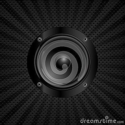 Solid högtalare