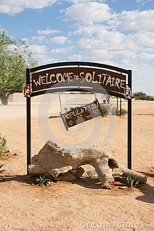 Free Solitaire, Namibia Royalty Free Stock Photos - 49972948
