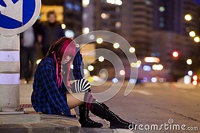 Solitude on the street