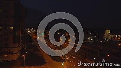 Solnedgång tidschackningsperiod: molnrörelse stock video