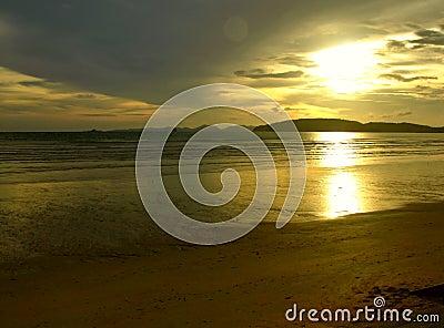 Solnedgång för mystic ii