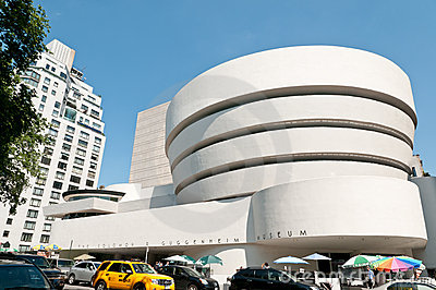 The Solomon R. Guggenheim Museum in New York City Editorial Stock Photo