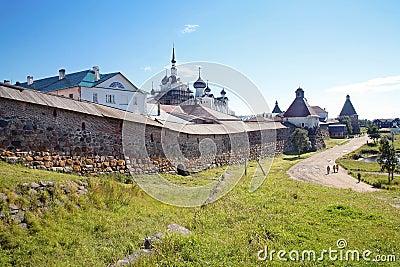 Solovetsky masculine monastery