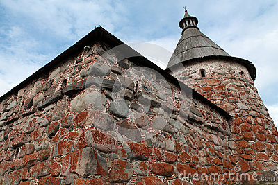 Solovetsky Monastery. White tower