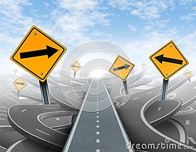 Soluções desobstruídas da estratégia e da liderança