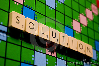Solution board-game