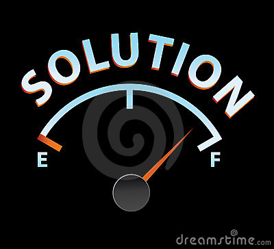 Solution meter