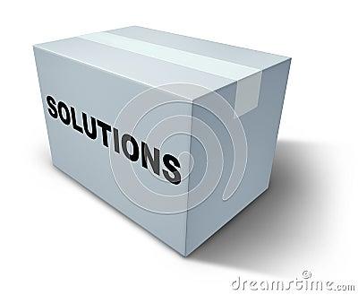 Solutions box