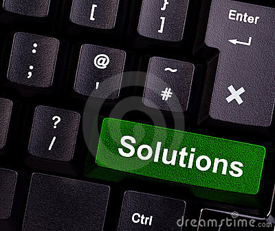 Solutions on keyboard