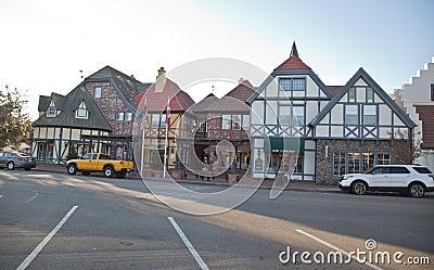 Solvang - Danish town in california Editorial Photography