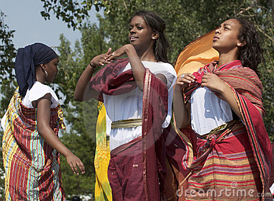 Somalian Girls Editorial Image