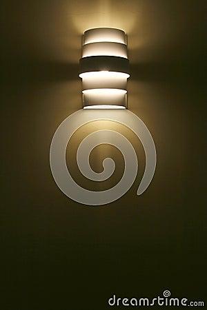 Sombra de lámpara