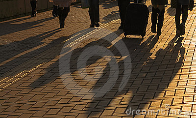 Sombras dos viajantes