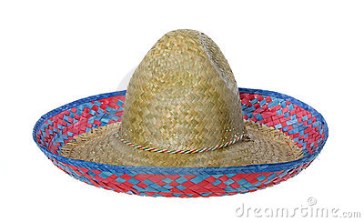 Sombrero Hat Isolated