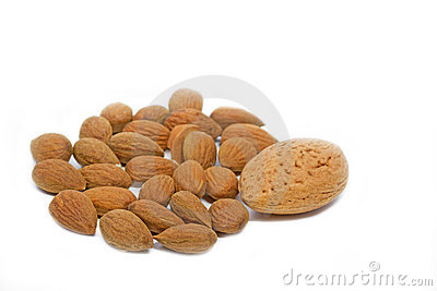Some almonds