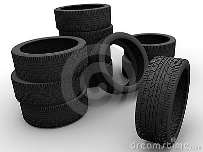 Some car tires