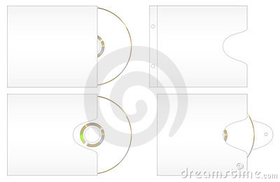 Some Cd Paper Cover Royalty Free Stock Photography - Image: 14055567