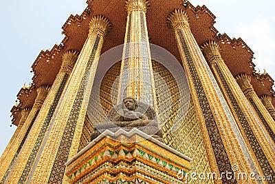 Some corner in temple