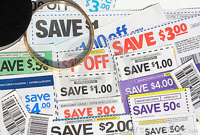 Some coupons