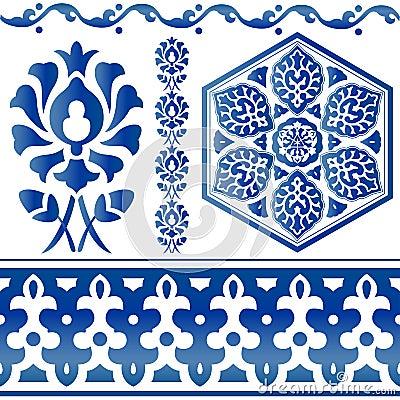 Some Islamic design elements