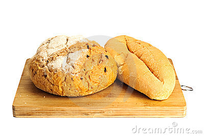 Some kinds of fresh bread