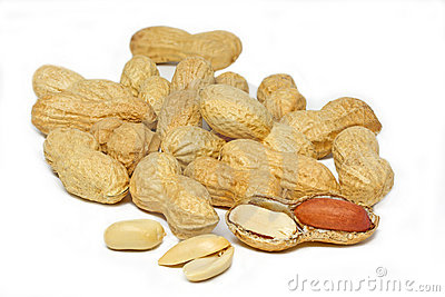 Some peanuts
