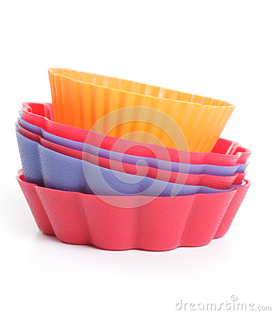 Free Some Silicone Bakeware Royalty Free Stock Photo - 27049905