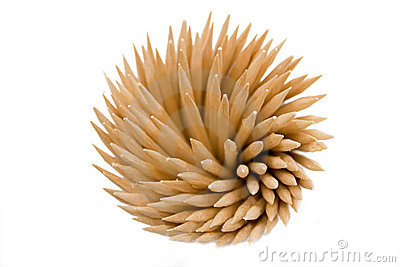 Some toothpicks