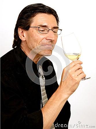 Free Sommelier (Wine Taster) Stock Photos - 2835193