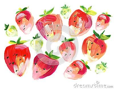 Sommer-Erdbeere