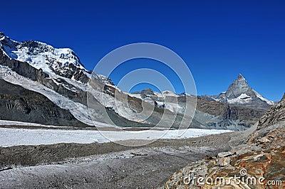 Sommità del Matterhorn
