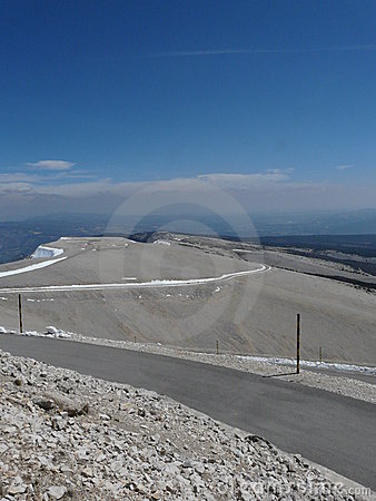 Sommit of Mont Ventoux