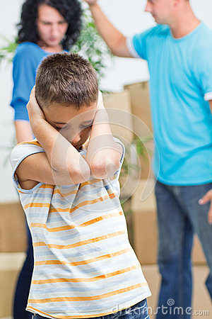 Son agonizes while parents figh