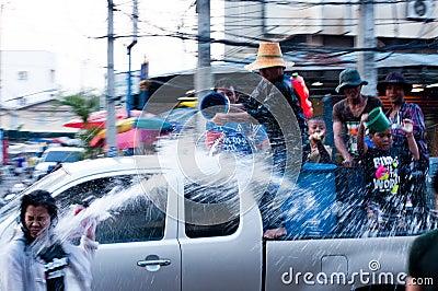 Songkran Festival Editorial Photography